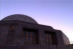 Adler Planetarium Sunset Chicago NTSC Stock Footage