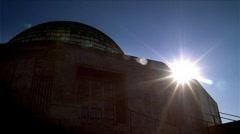 Adler Planetarium Sunrise Chicago 480x270 - stock footage