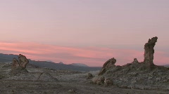 Time lapse of sunset in the Valley of the Moon near San Stock Footage