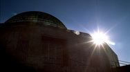 Stock Video Footage of Adler Planetarium Sunrise Chicago HD