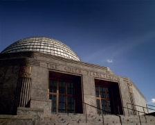 Adler Planetarium Sunset Chicago PAL Stock Footage