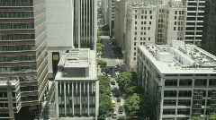 Time lapse of traffic in a city.  Stock Footage