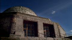 Adler Planetarium Sunset Chicago HD Stock Footage