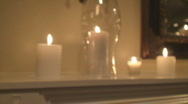 Candles07 Stock Footage