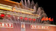 Tiananmen Gate Stock Footage