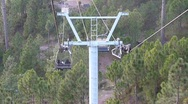 Stock Video Footage of Chair Lift