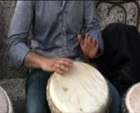 African percussion  Stock Footage