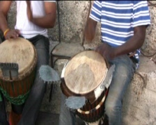 African percussion  - stock footage