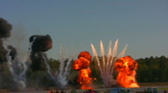 Explosions Stock Footage