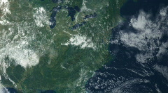 Satellite View Stock Footage