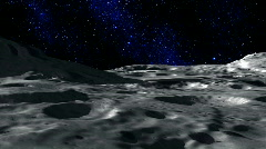 Moon Surface - stock footage