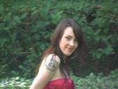 Beautiful, Sexy Brunette Walking Outdoors (2) Stock Footage