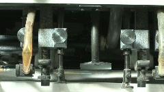 Industrial Paper Separator  Stock Footage