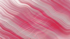 diagonal wavy pink white stripes (Loop) - stock footage
