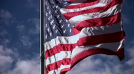 Stock Video Footage of Close Up of American Flag