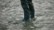 Fisherman. Stock Footage
