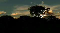 sunset 1 - stock footage