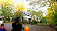 Stock Video Footage of Trick or Treat 397