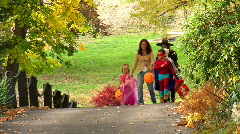 Trick or Treat 391 Stock Footage