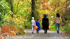 Trick or Treat 394 - stock footage
