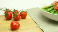 Fresh Salad Stock Footage