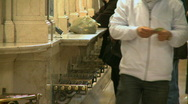 Stock Video Footage of Customers at ticket booths in Grand Central (3 of 5)