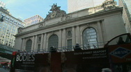 Stock Video Footage of Wide shot of Grand Central Station