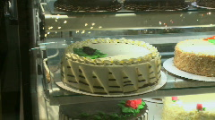 An array of cakes (2 of 2) Stock Footage