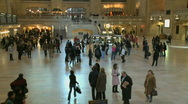 Stock Video Footage of Grand Central time lapse 3