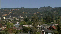 Stock Video Footage of Berkeley & East Bay Hills