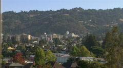 Berkeley, California 1 - stock footage