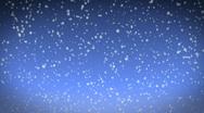 Beautiful snow falling loop 1080 Stock Footage