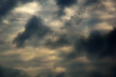 Time Lapse Clouds SD 09 x30 Dark Loop Stock Footage