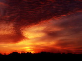Time Lapse Sunset SD 02 x50 Glow Loop Stock Footage