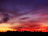 Sunset Horizon SD 01 Loop Stock Footage