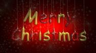 Merry christmas 03 Stock Footage
