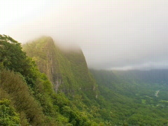Nu'uanu Pali Mountain Overlook 640x480 Stock Footage