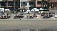 Stock Video Footage of Mazatlan beach pan P HD 4835