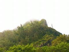 Nu'uanu Pali Mountain Peak 320x240 Stock Footage