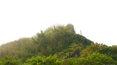 Nu'uanu Pali Mountain Peak 480x270 Stock Footage