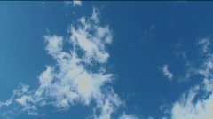 Fast-moving Clouds Time Lapse Stock Footage