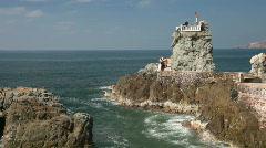 Cliff diver Mazatlan ready P HD 4819 Stock Footage
