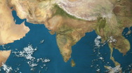 Stock Video Footage of Earth Region 1209 - India