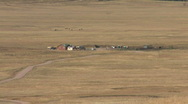 Ranch in Valles Caldera Of The Jemez Mountains Stock Footage