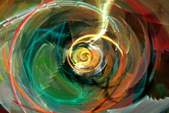 Wave spiral Stock Footage