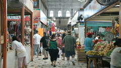 Indoor market Mazatlan Mexico P HD 4784 Stock Footage