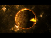 Planet destruction-The end Stock Footage