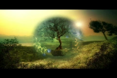 Magic energy tree  Stock Footage