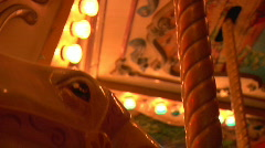 Carousel Close Shot - stock footage