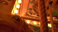 Carousel Close Shot Stock Footage